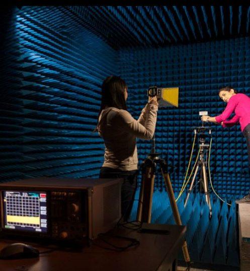 University of Liverpool sound room